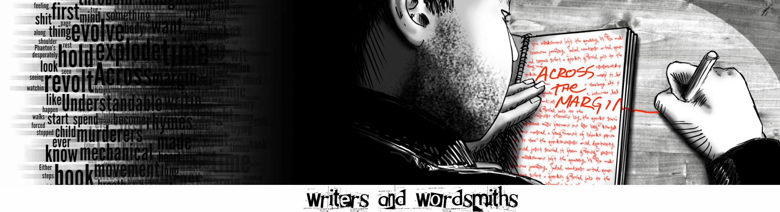 acrossthemargin - writers & wordsmiths