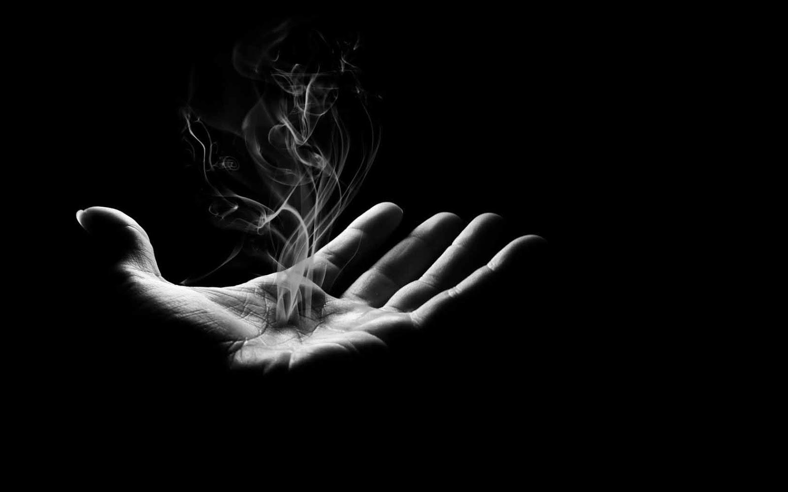 Violet Smoke Art Wallpapers: I Quit Smoking. Again