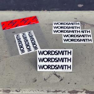 Wordsmith sticker package3