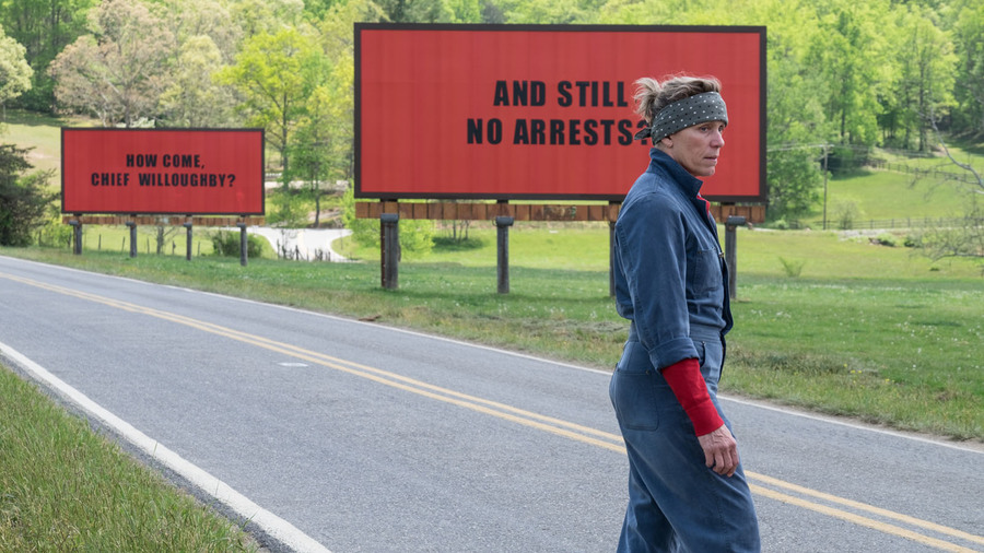 For Your Consideration: Three Billboards Outside Ebbing, Missouri