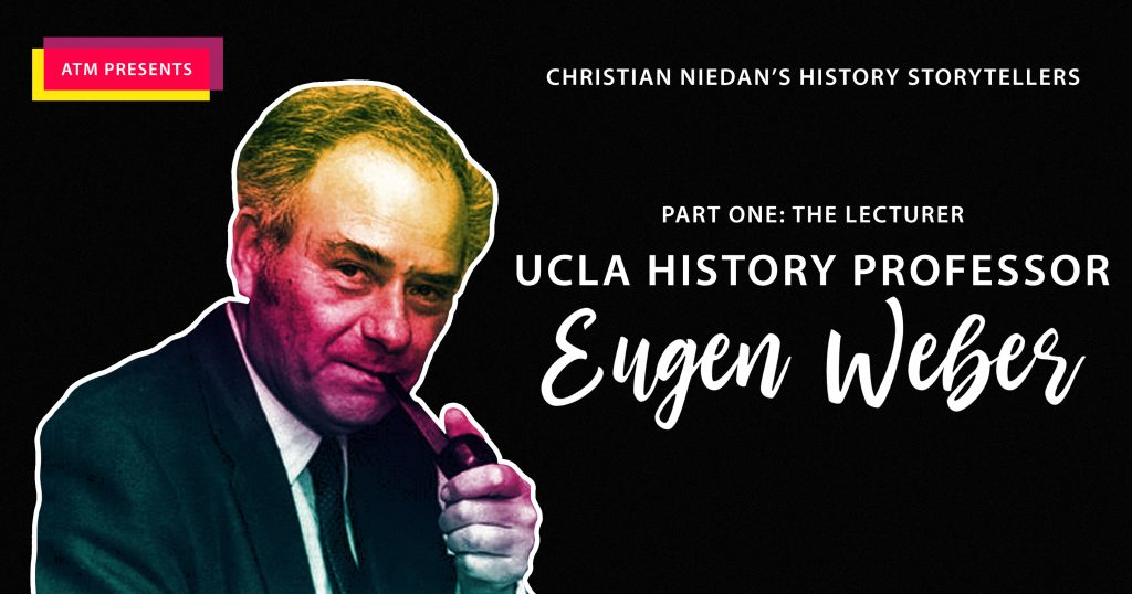 Christian Niedan's History Storytellers — Part One: The Lecturer
